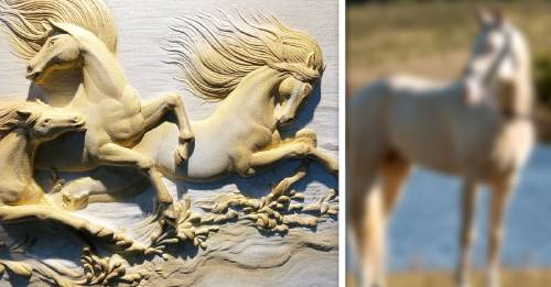 Esta es la raza de caballos dorados asiáticos considerados como los más hermosos del mundo