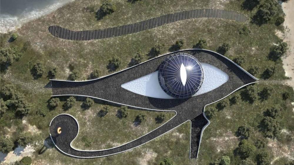 La casa autosuficiente del ojo de Horus