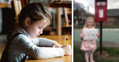 Niña de 4 años envía una carta al Cielo para su madre y recibe esta respuesta