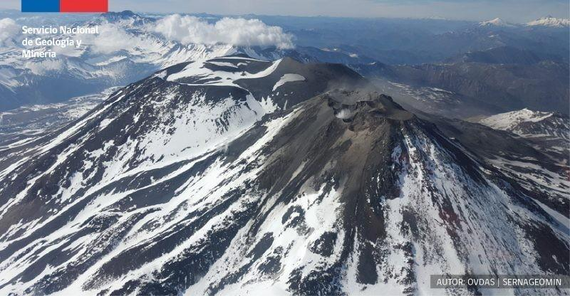 El complejo volcánico Nevados de Chillán registró durante esas semanas 44 eventos volcano-tectónicos