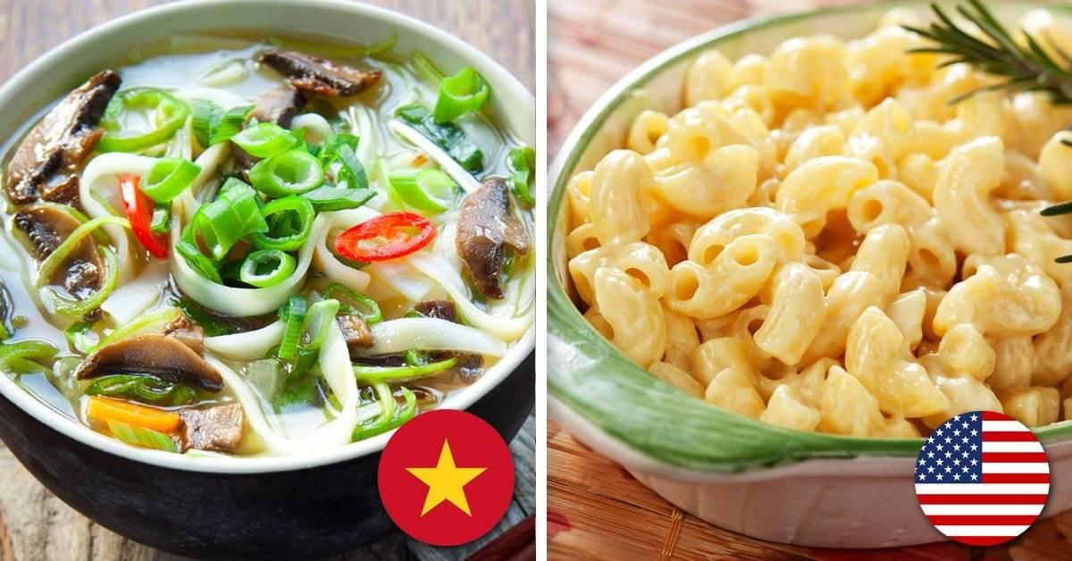 Estas son las comidas más populares del mundo. ¿Está tu favorita en la lista?