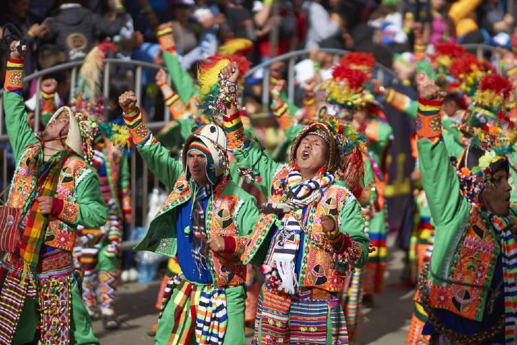 carnaval en bolivia, oruro