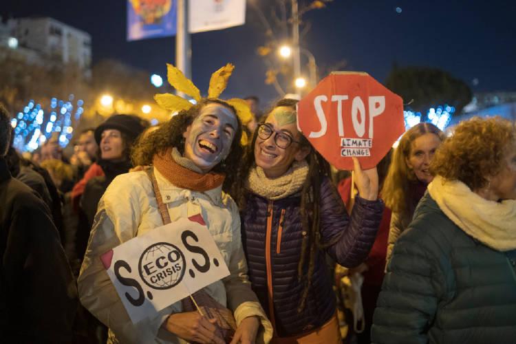 jovenes huelga clima