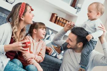 familia divertida