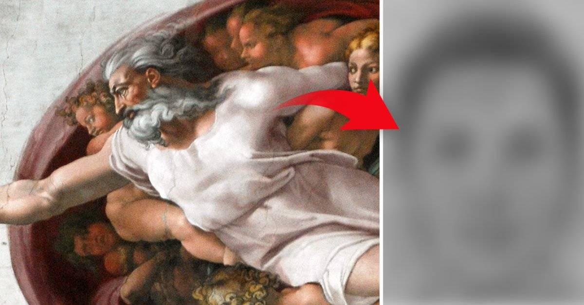 Esta es la cara de Dios, según las opiniones de los cristianos estadounidenses