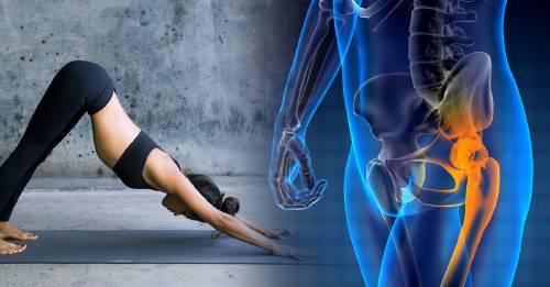 5 ejercicios de estiramiento de yoga contra la osteoporosis que fortalecen hueso