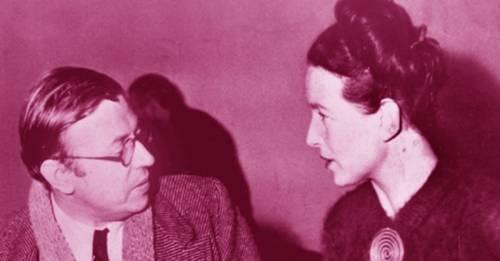 Esto es lo que Simone de Beauvoir y Sartre nos enseñaron sobre el amor libre ..