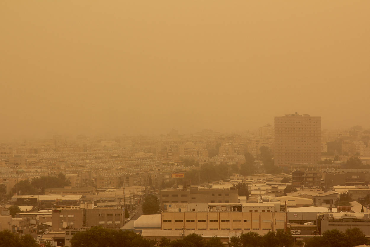 ¿Qué debemos saber de la nube de polvo del Desierto del Sahara?