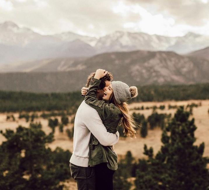 pareja felicidad