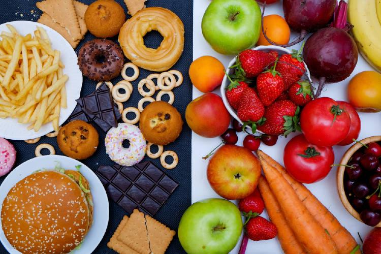 Comer pocos alimentos saludables es peor que llevar una mala dieta