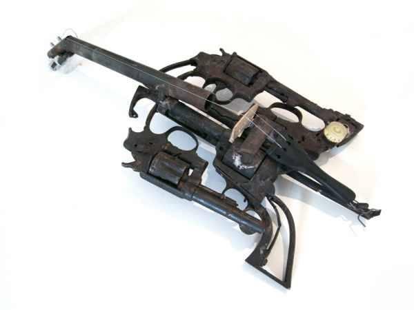 Transformación de armas en instrumentos musicales