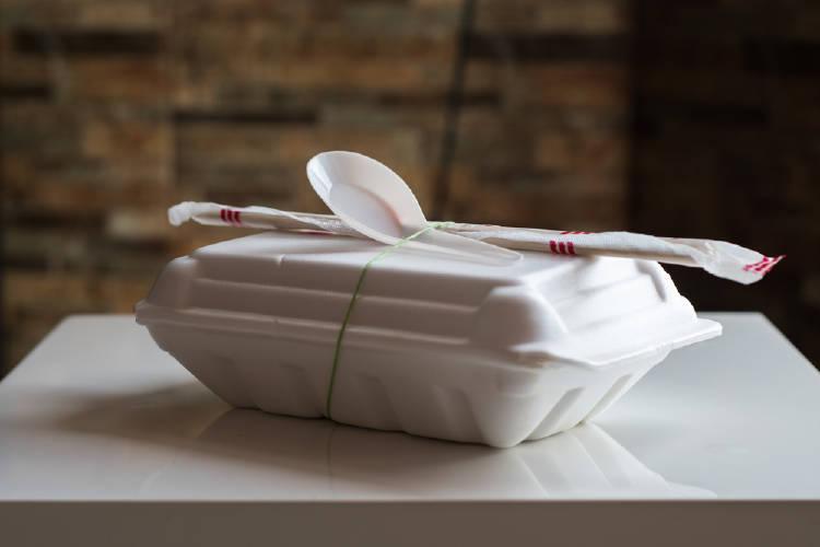 envase comida poliestireno