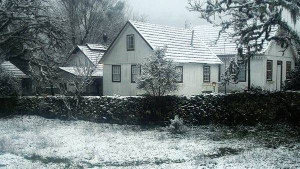 La ola de frío trajo nieve a Brasil. ¿Nevará en Buenos Aires, en Misiones y..