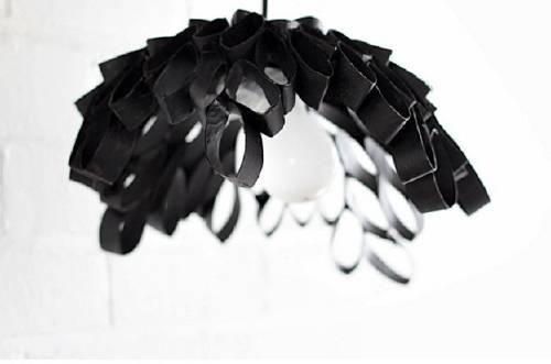 Cómo hacer lámparas recicladas