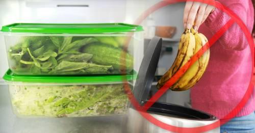 Cómo ordenar la nevera para no tener que tirar comida