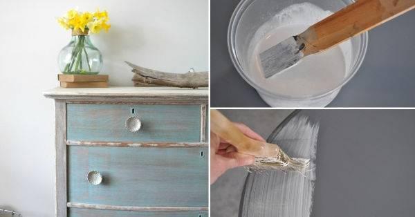 Cómo darle un efecto lavado a tu mueble en solo 4 pasos