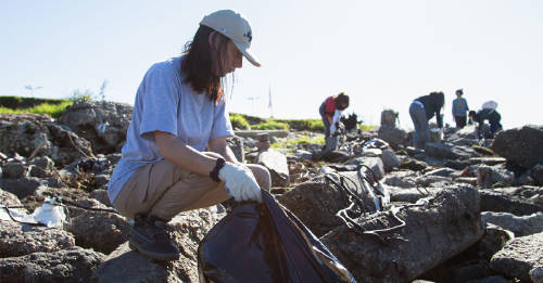 Playas sin plásticos: 150 voluntarios participaron de una limpieza