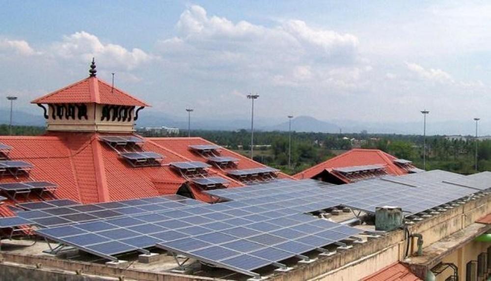 Aeropuerto de Cochin Energía solar- primero en el mundo
