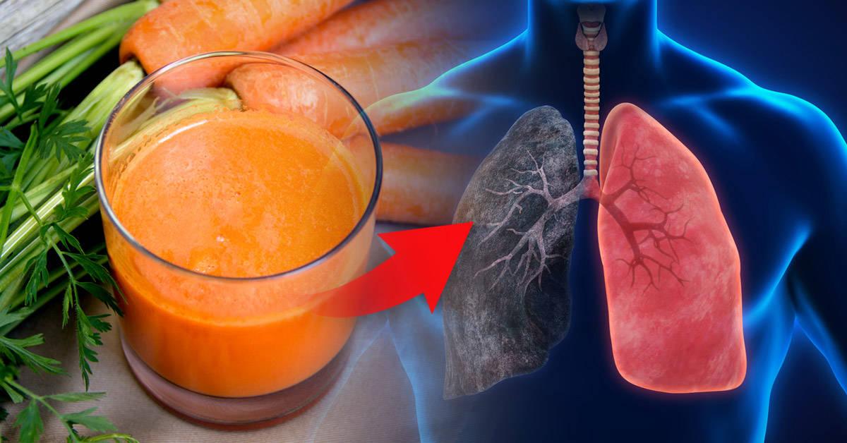 9 bebidas y comidas para desintoxicar los pulmones después de dejar de fumar