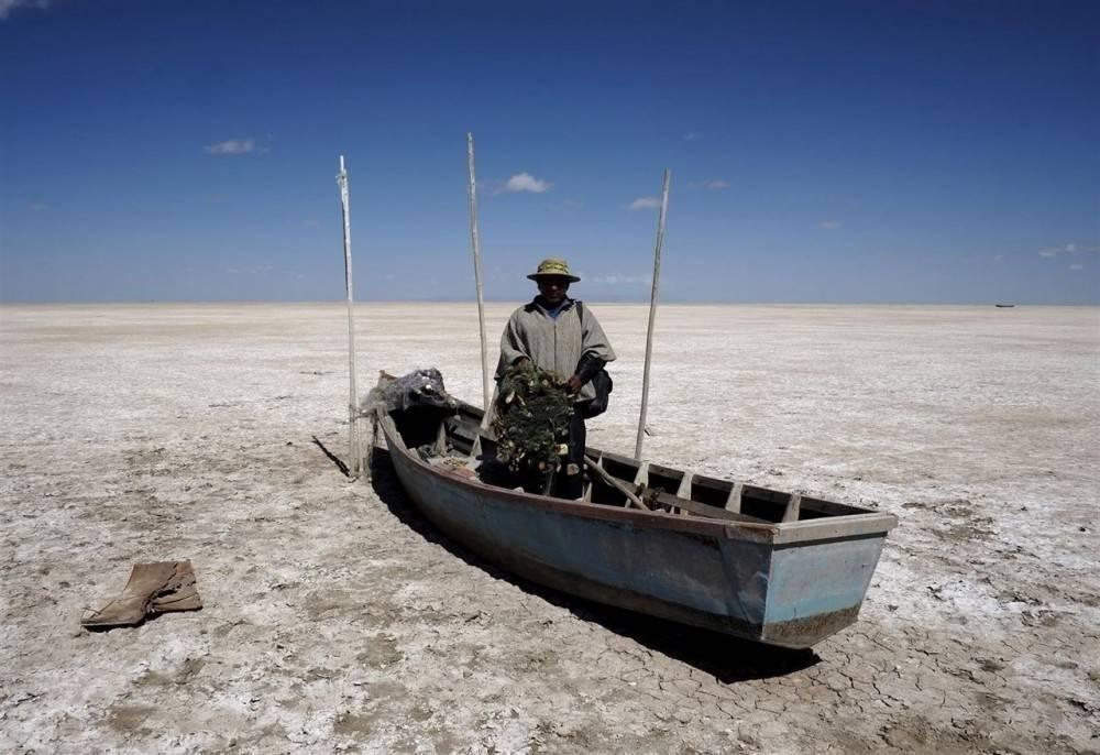 Se evaporó el segundo lago más grande de Bolivia