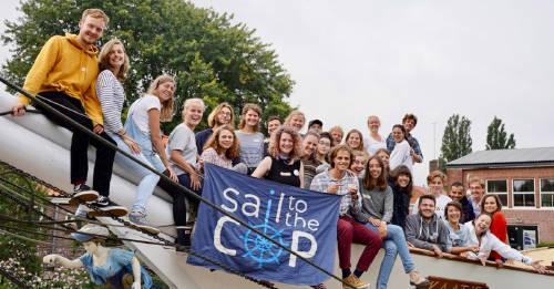 36 jóvenes viajan en velero desde Europa hasta Chile para la COP25