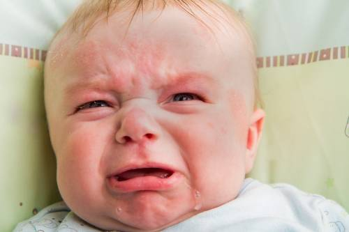 Esto sucede cuando un bebé huele el perfume de su madre