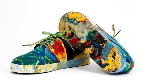 Estas son las primeras zapatillas hechas totalmente con basura