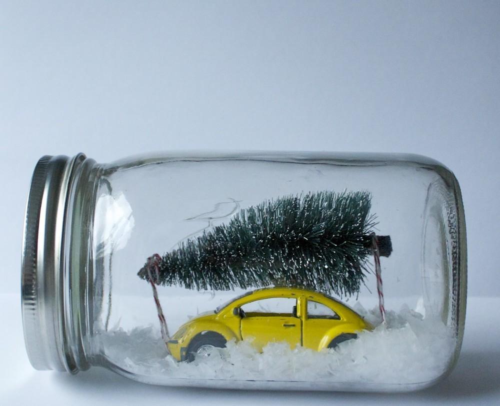 22 Adornos De Navidad Que Puedes Hacer Tu Mismo - Adornos-de-navidad-reciclados-como-hacerlos
