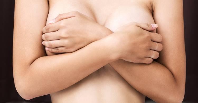 Mastitis senos mujer