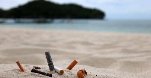 ¿Qué podemos hacer para tener playas limpias sin colillas de cigarrillo?