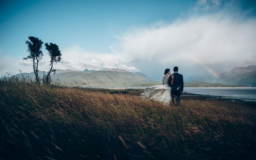 20 Espectaculares Fotos De Parejas Enamoradas En Paisajes Que