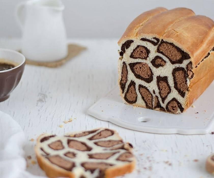 Pan de leche, ¡con estilo aleopardado!