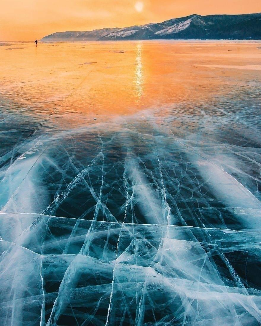 La belleza del lago más profundo, limpio y antiguo de la Tierra
