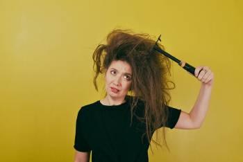 cabello pelo frizz