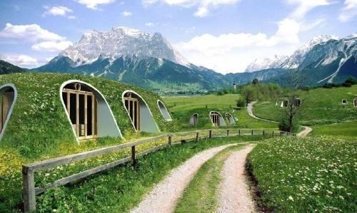 Una casa hobbit que puedes construir, ¡en solo tres días!