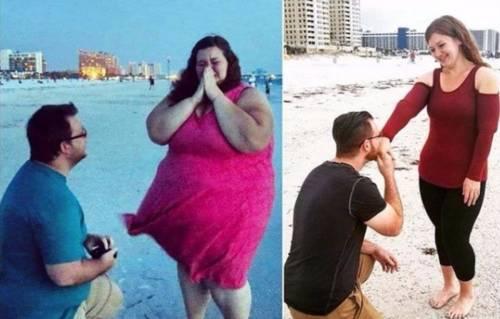 Una promesa de amor los llevó a perder 180 kilos y ahora inspiran a todos con..