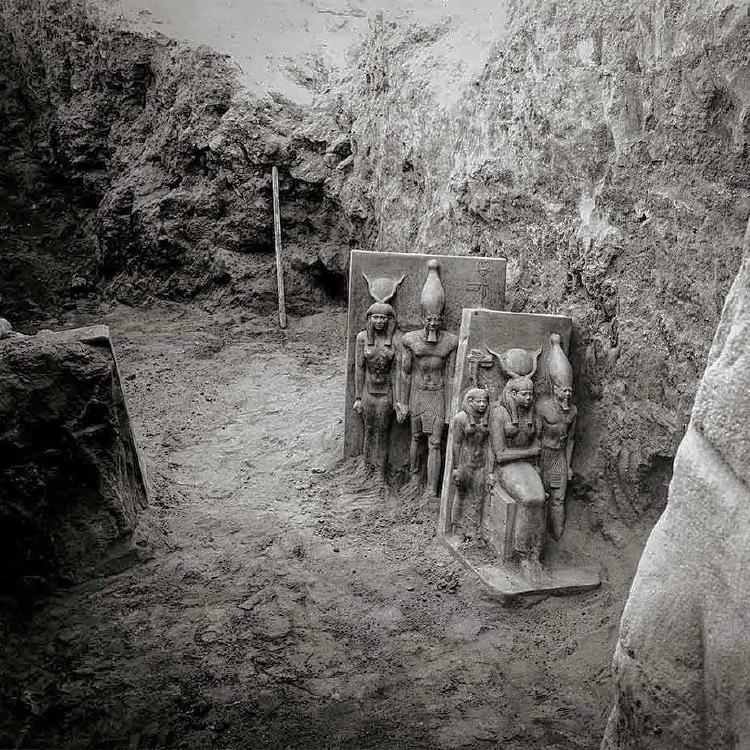 ¡Gran hallazgo! Arqueólogos descubren 54 ataúdes en una antigua tumba egipcia