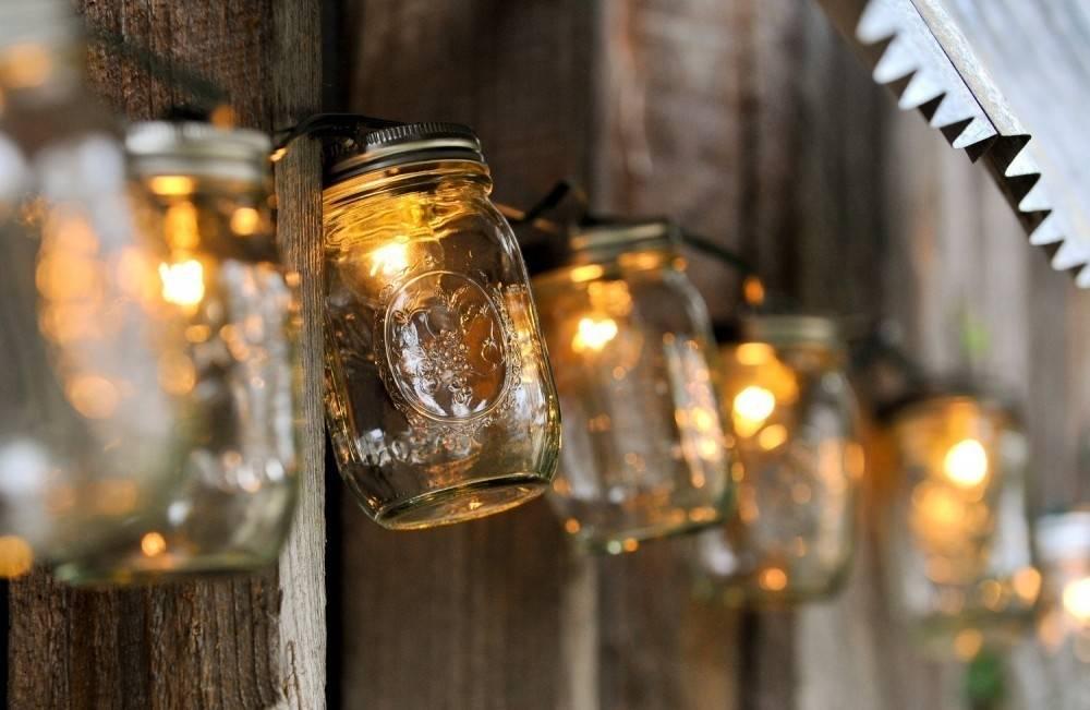Cómo hacer tus propias lámparas brillantes decorativas