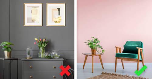 4 colores  que no deberías elegir para tu casa y cómo cambiarlos
