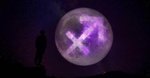 Luna en Sagitario: energía disponible y energía prohibida