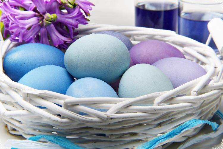 huevos de pascua orgánicos semana santa 2021