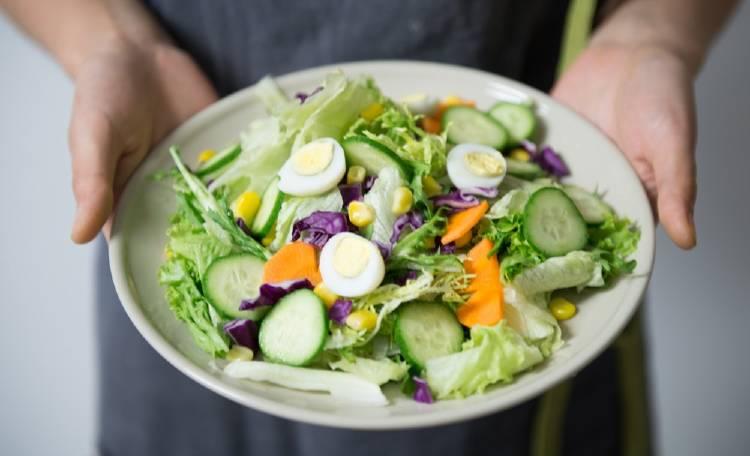 ensalada comer sano adelgazar