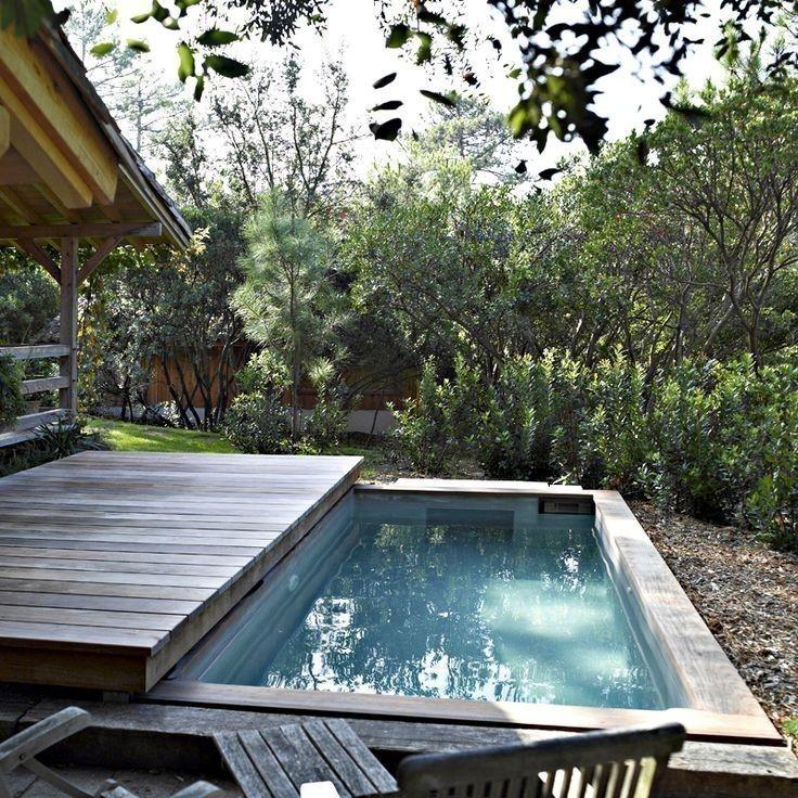 C mo construir una cubierta m vil para la piscina for Piscinas en espacios muy pequenos