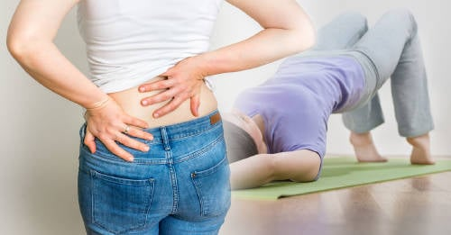 3 sencillos ejercicios para el dolor de cintura y espalda
