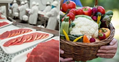 Cuáles son los alimentos con mayor y menor huella de carbono