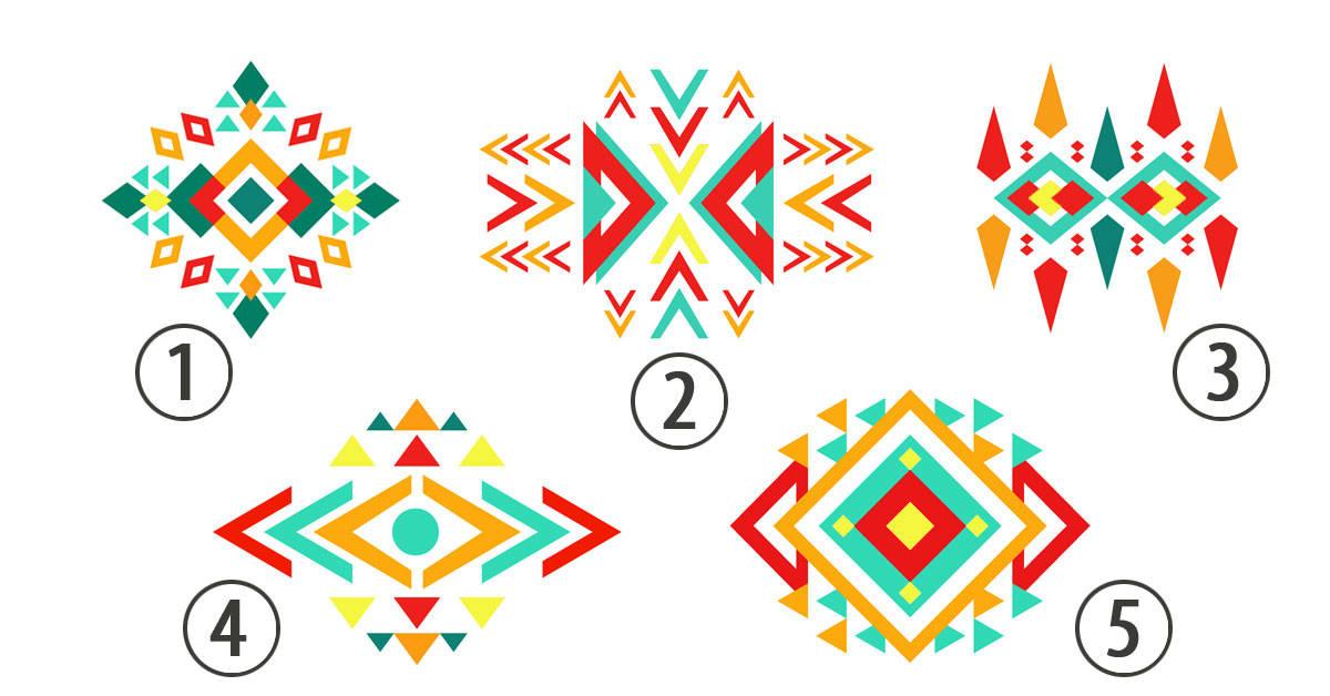 Test: elige un patrón y descubre qué dice sobre tu personalidad