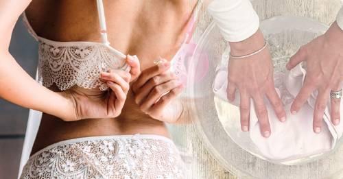Cómo hacer que tu ropa interior vuelva a tener su color blanco original