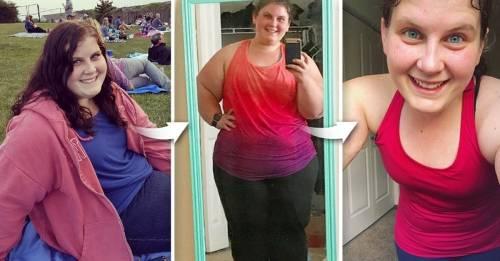 Una mujer perdió 135 libras con esta receta