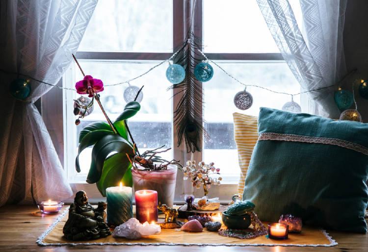 Cristales en el hogar