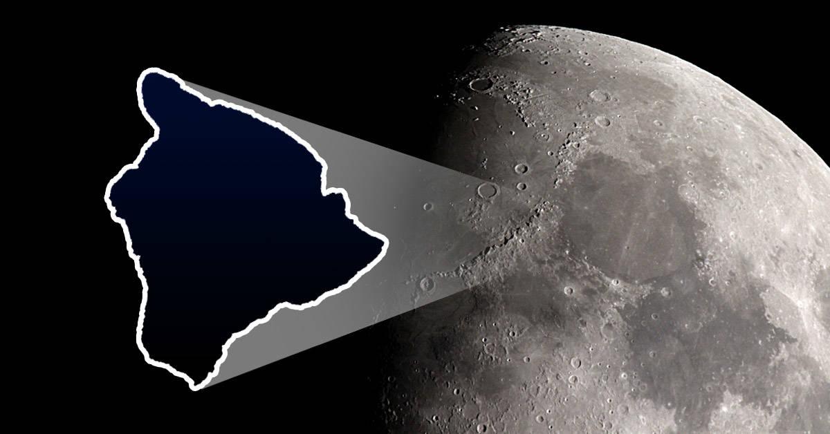 Hay una extraña masa metálica incrustada en la Luna: ¿qué es y cómo llegó allí?